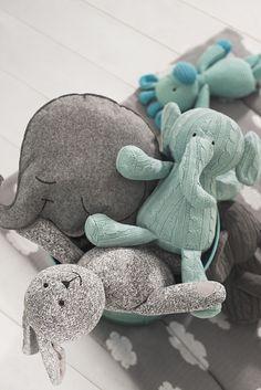 Stuffed animals by Jollein