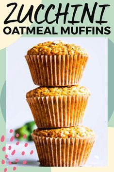 Whip up a batch of Zucchini Oatmeal Muffins to keep on hand in the freezer when the summer snack attack hits! This will be your new go-to recipe. Made with oatmeal, buttermilk and honey, these are easy to make and so delicious. Super freezer friendly to s Muffin Recipes, Brunch Recipes, Baking Recipes, Breakfast Recipes, Breakfast Ideas, Breakfast Snacks, Free Breakfast, Brunch Ideas, Veggie Recipes