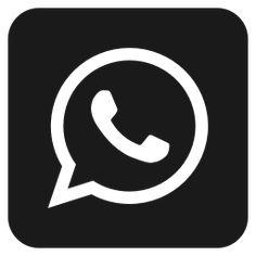 Logo Do Whatsapp, Snapchat Logo, Snapchat Icon, Twitter Icon, Apps, New Instagram Logo, Black App, Shortcut Icon, App Icon