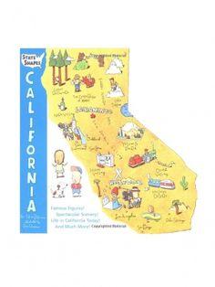 State SHapes - California by Workman Publishing Company - ShopKitson.com