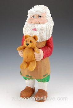 Teddy Bear Santa - Debbie Barr