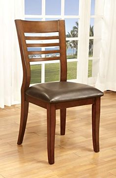 Casual Rolling Caster Dining Chair with Swivel Tilt in Oak Wood