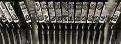 Typenhebel einer Schreibmaschine: Agenten sollen wieder tippen