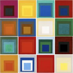 """""""Homage to the Square"""" by Josef Albers"""