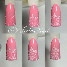 Nail art is a very popular trend these days and every woman you meet seems to have beautiful nails. It used to be that women would just go get a manicure or pedicure to get their nails trimmed and shaped with just a few coats of plain nail polish. Nail Art Noel, Nail Art Diy, Cool Nail Art, Christmas Nail Designs, Christmas Nail Art, Simple Christmas, Winter Christmas, Winter Nail Art, Winter Nails