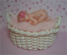 Baby in a Basket Topper