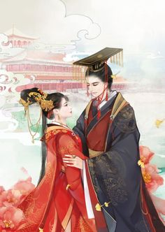 """I want everyone to meet you. You're my favorite person of all time."" The best romance novels to read right now on Flying Lines ❤❤❤❤ Anime Love Story, Anime Love Couple, Couple Art, Couple Painting, Anime Couples Drawings, Couple Drawings, Chinese Drawings, Fantasy Couples, Chinese Cartoon"