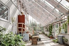 Make This Enchanting Swedish Greenhouse Your Home For $864K - Dwell