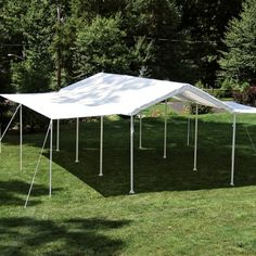 Find it at the Foundary - ShelterLogic 20 x 10 All-Purpose Canopy with Extension$219