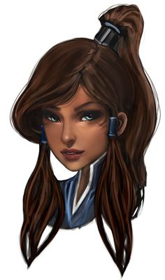 the legend of korra. So pretty. I wish I had photoshop so I could do cool things like this.