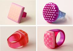 Love these rings from the paisleystclaire blog