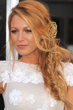 Blake Lively - plait hair