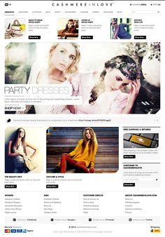 Clothing E-commerce Website by Dogan Aydemir