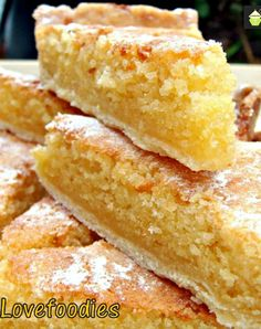 Lemon Frangipane. This is a really nice coffee time cake to make. Goes great with a nice cup of tea! Or you can have as a dessert, warm or cold with a squirt of whipped cream or like me, a blob of vanilla ice cream! It's really yummy! Delicious!   Lovefoodies.com
