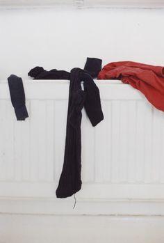 socks on radiator Wolfgang Tillmans