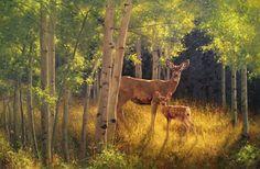 Greg Beecham (1954–Present), Wood Nymphs, oil on canvas, 24 x 36 in, JHAA 2015 Estimate: $10,000–$15,000