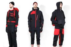 White Mountaineering's diffusion line BLK originally debuted with a largely muted color palette...