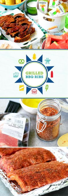 Summer means one thing—fun outdoor parties with your friends and family! So as the weather warms up, make sure you have everything you need for your get-together by shopping at Sam's Club—like Honest® Tea. And with this recipe for Grilled BBQ Ribs, your guests will be licking their fingers thanks to the savory homemade rub and pineapple grilling sauce. Talk about the combination for a delicious menu!