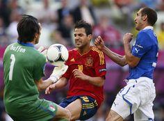 La Pelea - Preparados para la final - Italia - España. Italy - Spain