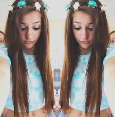 This girl is so pretty Floral Crown, Tumblr Girls, Hair Inspo, Hair Looks, Pretty Hairstyles, Pretty People, Her Hair, Love Fashion, Hair Makeup