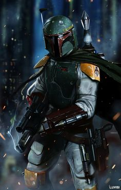 Boba Fett - 'No Disinegrations'  Created by Dan LuVisi