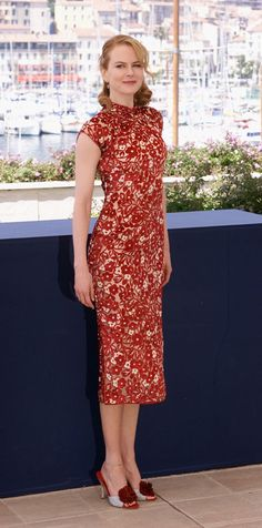 Cheongsam - Nicole Kidman