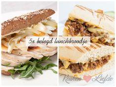 5x belegd lunchbroodje