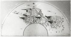 """Objektbezeichnung: Fotografie Titel: """"Fächer"""" Modellnummer: BL 0301 Entstehung / Datierung: Czeschka, Carl Otto, Entwurf des abgebildeten Objekts Wiener Werkstätte, Ausführung des abgebildeten Objekts, Wien, 1905"""