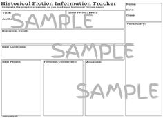 historical fiction student writing samples