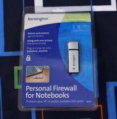 Laptop Security Personal Firewall USB Security Key Kensington New Public Wifi #Kensington