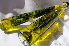 Bylinkový olej - bazalkový a rozmarýnový