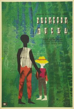 The Adventures of Huckleberry Finn - Polish Style Poster at AllPosters.com