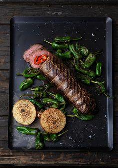 Matambre, argentinsk grönsaksfylld flankstek
