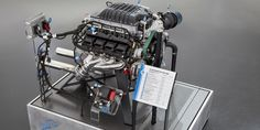 """Dodge has gone mad and we love it. Mopar has officially unveiled the Hellcat-inspired """"Hellephant"""" engine. It's the newest crate engine from Dodge Charger Srt, Dodge Challenger Srt Hellcat, Mopar, Las Vegas, Crate Motors, Crate Engines, Thing 1, Cars, Motors"""