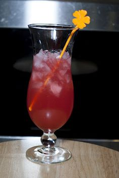 Hawaiian Punch     (1 1/2 oz peach schnapps  1 oz amaretto  1/2 oz grenadine  2 oz pineapple juice  1 oz cranberry juice)