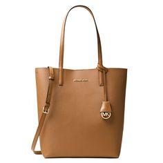 Michael Kors Hayley Acorn/ Oyster Convertible Tote Bag