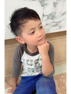 Children, boys hairstyle is cut off at home? Introduction How to cut, tips, the Kariage how in the clippers! Asian Boy Haircuts, Cool Boys Haircuts, Asian Haircut, Toddler Boy Haircuts, Little Boy Haircuts, Kids Cuts, Boy Cuts, Baby Haircut, Baby Boy Hairstyles