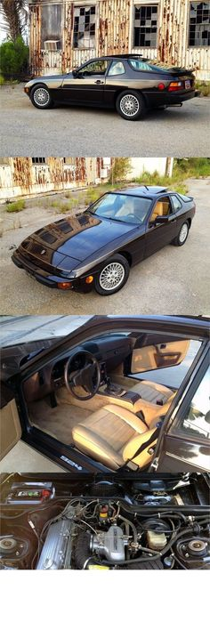 Porsche 924 Martini Body Kit fits all 924 models and 944 models