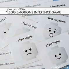 It can be rather tricky to teach kids about emotions. You'll find over 30 printables, activities, and books all about emotions for kids here. These hands-on learning activities will help your child learn about her emotions while playing. Social Skills Lessons, Social Skills Activities, Teaching Social Skills, Autism Activities, Autism Resources, Social Emotional Learning, Activities For Kids, Life Skills, Sorting Activities