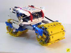 Antarxa Exploration Vehicle by mahjqa, via Flickr