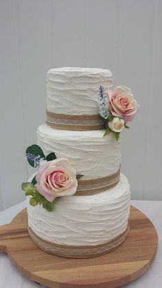 Items similar to Rustic ivory 3 tier fake cake, fake buttercream, on Etsy Fake Wedding Cakes, Wedding Cake Rustic, Elegant Wedding Cakes, Beautiful Wedding Cakes, Wedding Cake Designs, Beautiful Cakes, Fake Cake, Buttercream Wedding Cake, Bridal Shower Cakes