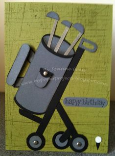 Stampin' Up! My Way: Golf Punch Art