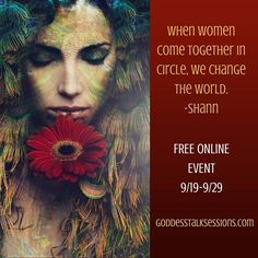 Goddess Talk Sessions: A divine feminine global gathering for women who walk in…
