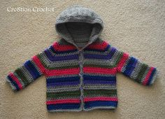 The Simplest Toddler Sweater | AllFreeCrochet.com