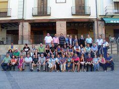 El grupo UTO ONCE ha visitado la Iglesia de El Salvador y después, ha paseado por las calles del casco histórico de la localidad.