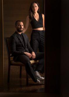 Imágenes promocionales de Jamie Dornan y Dakota Johnson para USA Today   50 Sombras Spain