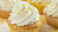 Thick, luscious whipped coconut buttercream frosting. Perfect on top of cakes, cupcakes, or alone on a spoon! This is one frosting you are going to love.