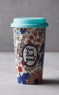 Sweet Salutation Travel Mug #anthrofave