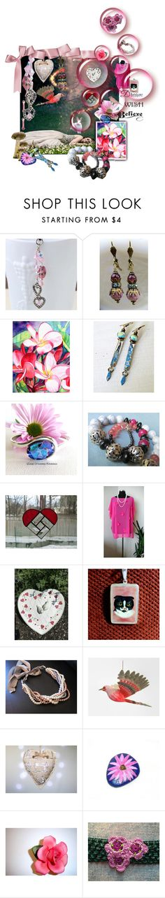 Valentine Gifts for Your Princess by funnfiber on Polyvore featuring moda, WALL and vintage