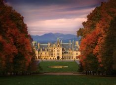 "Biltmore Estate in the fall. Christmas is nice. Summer is ""ok."" Fall is A MUST!"